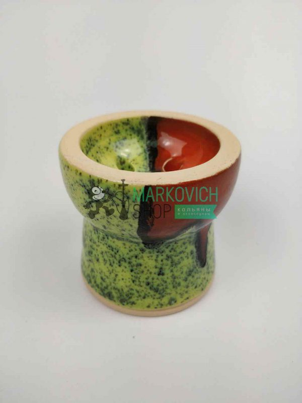 Чаша для кальяна Gusto Bowls GLAZE Turkish Green